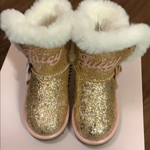 Girls Juicy Couture Fur Boot